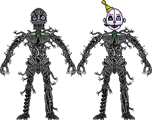 Ennard (FNAF SISTER LOCATION) by birdman91
