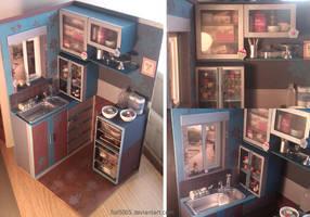 Dollhouse kitchen - Part 1 by fiat500S