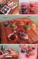 Miniature: Jellies and yogurts by fiat500S