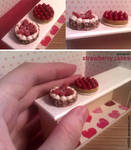 Miniature: Strawberry cakes by fiat500S