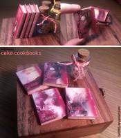 Miniature: Cake Cookbooks by fiat500S