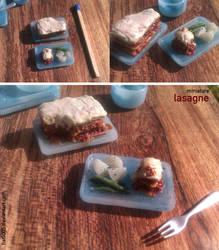 Miniature: Lasagne by fiat500S