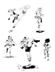 Baseball Fighter Girlz by Mohsqi