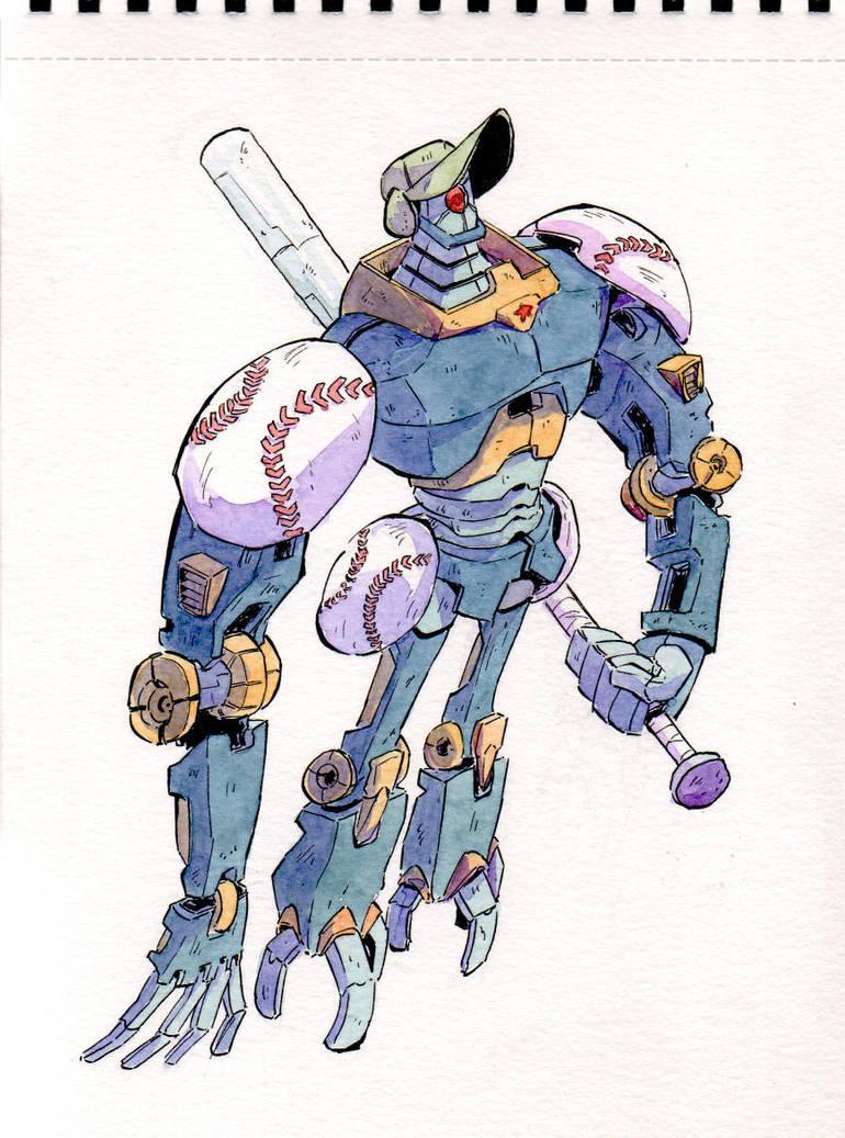 Hitter Basebot by Mohsqi