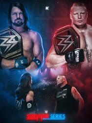 Styles VS Lesnar by shadykt26