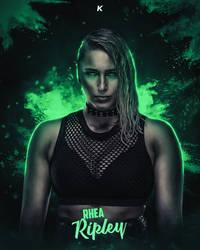 Rhea Ripley WWE by shadykt26