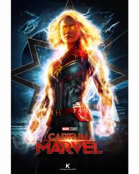 Captain Marvel by shadykt26