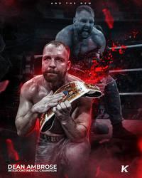 Dean Ambrose by shadykt26