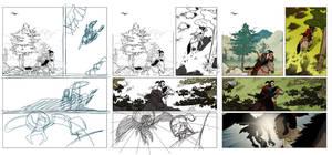 How to make a comics page: page 04 by EMPAYAcomics