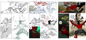 How to make a comics page: page 05 by EMPAYAcomics