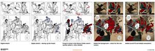 How to make a comics page: page 06 by EMPAYAcomics