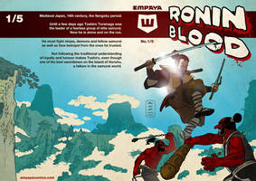 Ronin Blood Cover to Issue 01 by EMPAYAcomics