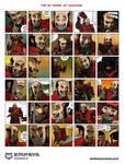 The 30 Faces of Hachiman by EMPAYAcomics