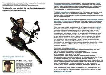 Top5mistakes when creating comics:Drazen Kovacevic by EMPAYAcomics