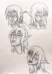 Scarlet - Faces by AaronBasto
