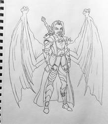 Zephyr - The Sky Warrior by AaronBasto