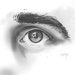 Sketch Your Eye by gandarewa