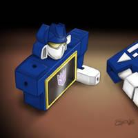 TOY ROBOT by gandarewa