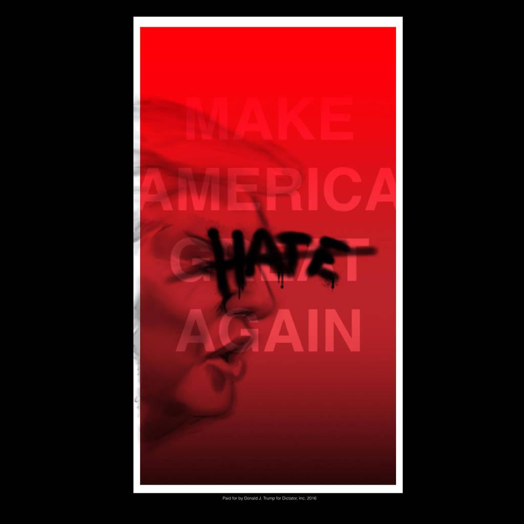 Make America Hate Again by gandarewa