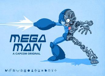 Mega Man Tech by Forty-Nine