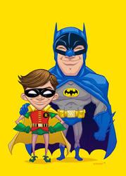 60's Batman by Forty-Nine