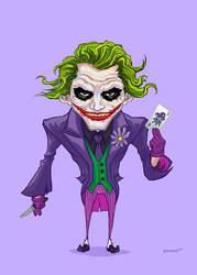 Joker Dark Knight by Forty-Nine
