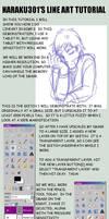 Line Art Using GIMP by OmusaSteelhorn
