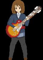 Hirasawa Yui - K-ON by dokitsu