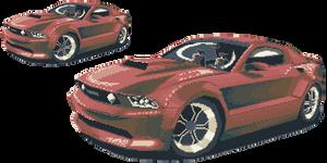 Mustang - Ford by dokitsu