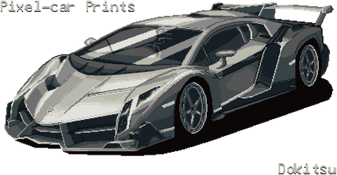 Veneno - Lamborghini by dokitsu