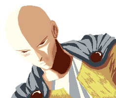 Saitama - One Punch Man by dokitsu