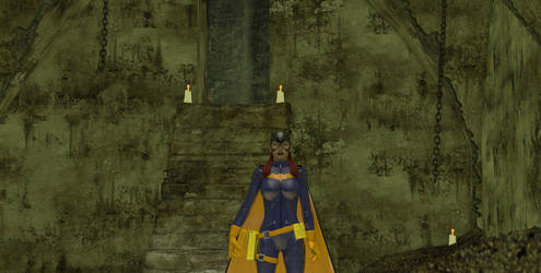 Batgirl Test by DanDeParis