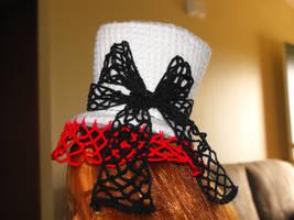 Crochet Mini Top Hat by motheroftheforsaken