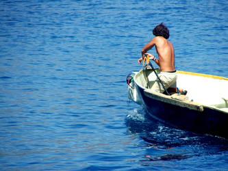 fisherman by damdakisuvari
