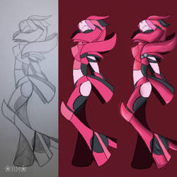 Crystalline's Old Design by RM-Arts96