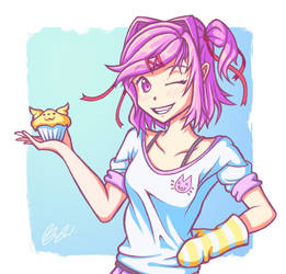 Cupcake Time! by Peaceablecolt