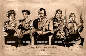 Red Dead Redemption 2 -Long Live the Outlaws P.1 by NoahBDesign