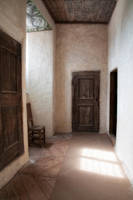 Lacko castle, hallway by RavensLane