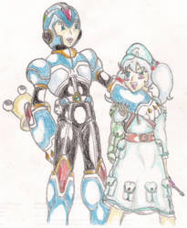 Nitori and X by TheGloriesBigJ