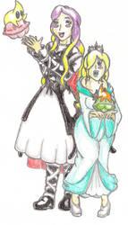 Byakuren and Rosalina by TheGloriesBigJ
