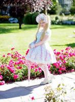 Lady of Roses III by harlyharlekin