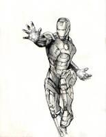 Iron Man by JusDrewIt