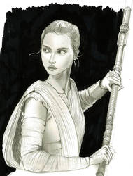 Rey by JusDrewIt
