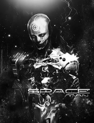 Space Man by MohamedGfx