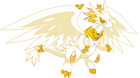 Light Dragon by Tower-The-Chao