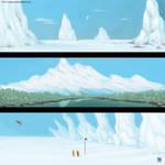 Snowy Landscapes by DavidHakobian