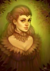 The Autumn Countess by DavidHakobian