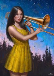 Trombonista Salerosa by DavidHakobian