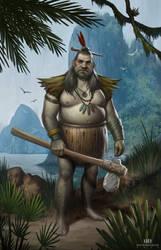 Tribesman by DavidHakobian