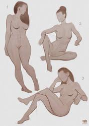 Figure Drawing by DavidHakobian